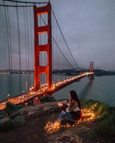 Golden Gate by Night 2