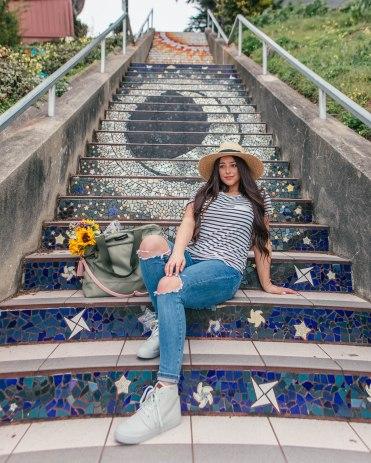 Tiled Steps SF