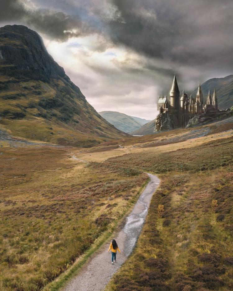 Hogwarts Glen Coe